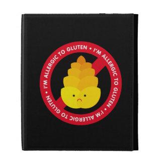 I'm allergic to gluten! iPad folio covers