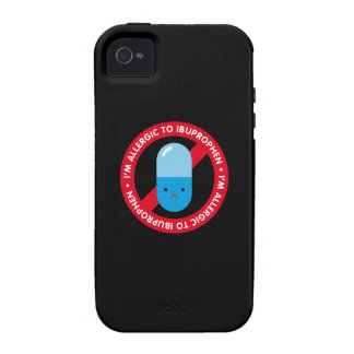I'm allergic to ibuprophen! Ibuprophen allergy iPhone 4/4S Covers