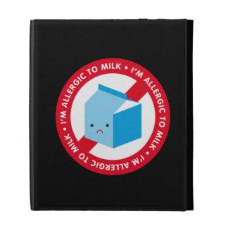I'm allergic to milk! iPad folio cases