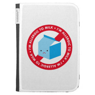 I'm allergic to milk! kindle cover