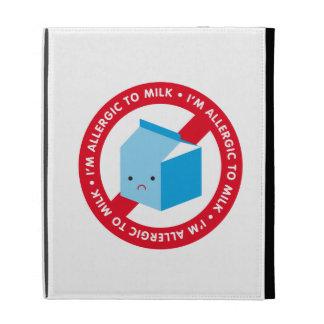 I'm allergic to milk! iPad folio cover