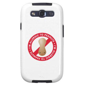 I'm allergic to peanuts! Peanut allergy Galaxy S3 Cases