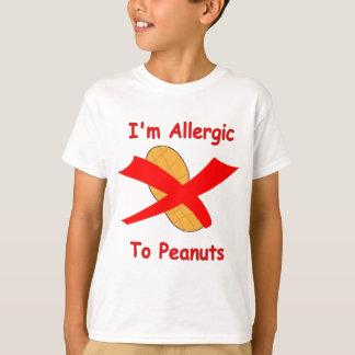 I'm Allergic to Peanuts T-shirt