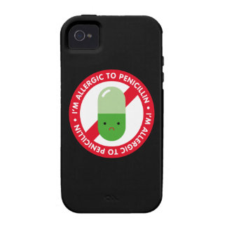 I'm allergic to penicillin! Penicillin allergy Case-Mate iPhone 4 Cover