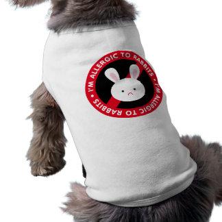 I'm allergic to rabbits! Rabbit allergy Pet Clothing