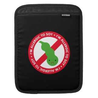 I'm allergic to soy! sleeves for iPads