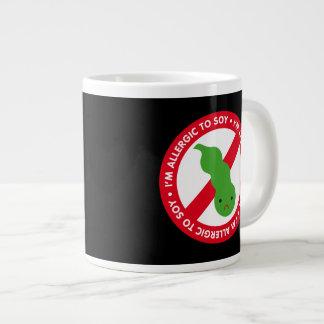 I'm allergic to soy! extra large mugs