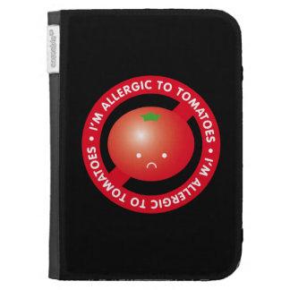 I'm allergic to tomatoes! Tomato allergy Kindle Keyboard Case