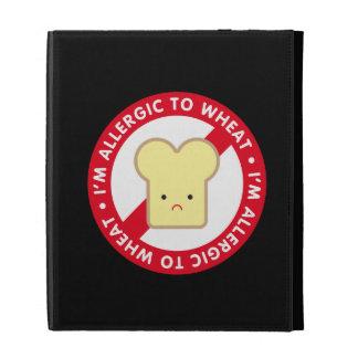 I'm allergic to wheat! iPad folio covers