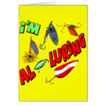 I'm Alluring Fishing T-shirts and Gifts Cards