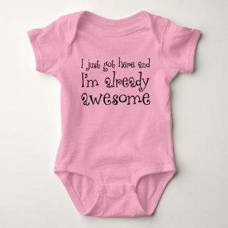 I'm Already Awesome Baby Bodysuit