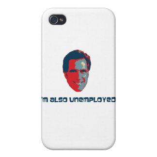 I'm Also Unemployed iPhone 4 Case