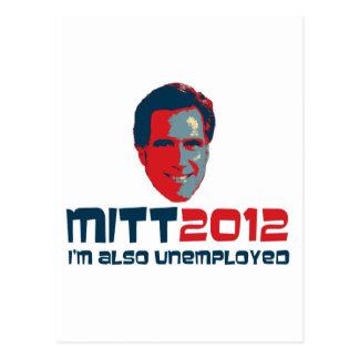 I'm Also Unemployed Postcard