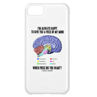 I'm Always Happy To Give You A Piece Of My Mind Cover For iPhone 5C