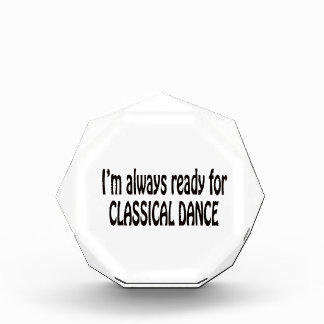 I'm always ready for Classical dance. Awards