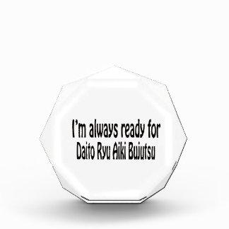 I'm always ready for Daito Ryu Aiki Bujutsu. Award