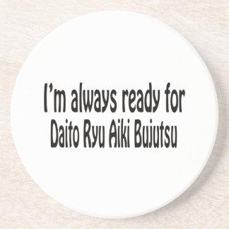 I'm always ready for Daito Ryu Aiki Bujutsu. Beverage Coasters