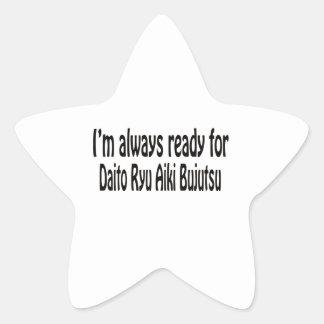 I'm always ready for Daito Ryu Aiki Bujutsu. Sticker