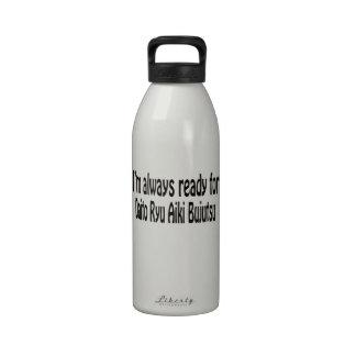 I'm always ready for Daito Ryu Aiki Bujutsu. Water Bottle