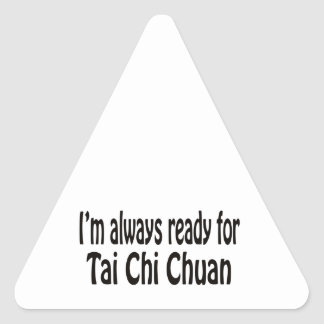 I'm always ready for Tai Chi Chuan. Stickers