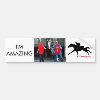 I'm Amazing 1.6 Million Bumper Sticker