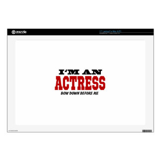 I'm An Actress Bow Down Before Me Laptop Decal