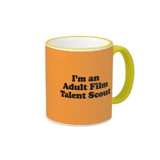 I'm an Adult Film Talent Scout Mugs