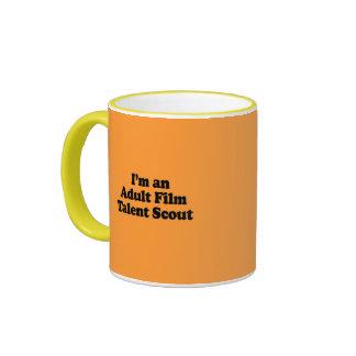 I'm an Adult Film Talent Scout Coffee Mugs