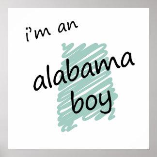 I'm an Alabama Boy Print