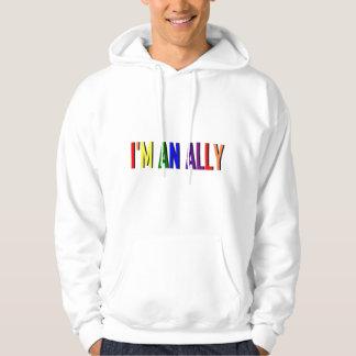 I'm an Ally Hooded Sweatshirt