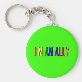 I'm an Ally Keychain