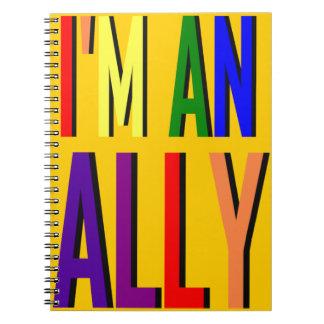 I'm an Ally Spiral Notebook