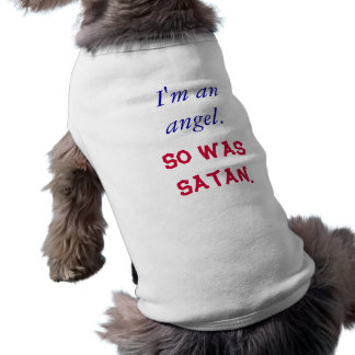 I'm an angel. So was Satan. Shirt