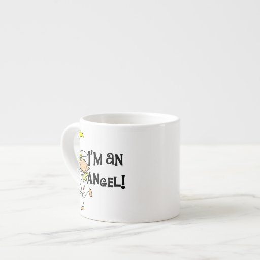 I'm an Angel T-shirts and Gifts 6 Oz Ceramic Espresso Cup
