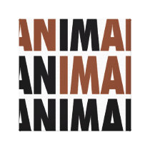 i'm an animal canvas print