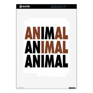 i'm an animal decals for the iPad 2
