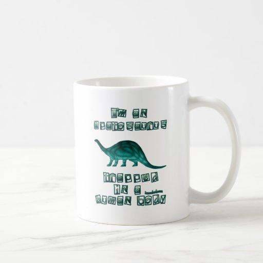 I'm an Apatosaurus Classic White Coffee Mug