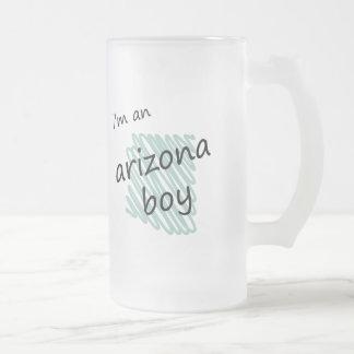 I'm an Arizona Boy Frosted Glass Beer Mug