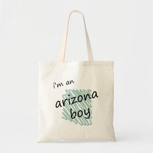 I'm an Arizona Boy Tote Bags