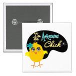 I'm an Arkansas Chick Pinback Buttons
