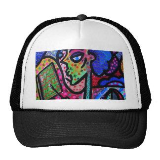 IM AN ARTIST BY PRISARTS TRUCKER HAT