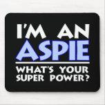 I'm An Aspie Mousepads