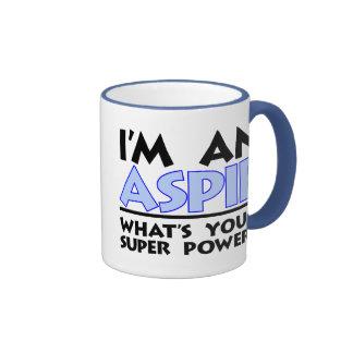 I'm An Aspie Ringer Coffee Mug