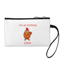 I'm an Asthma Chick Coin Purse