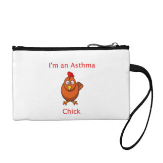 I'm an Asthma Chick Coin Purse