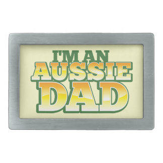 I'm an AUSSIE DAD! Belt Buckle