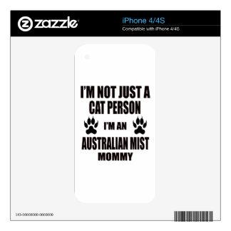 I'm an Australian Mist Mommy Skin For iPhone 4