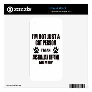 I'm an Australian Tiffanie Mommy iPhone 4 Skin