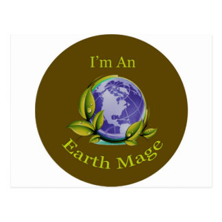 I'm An Earth Mage Postcard