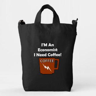 I'M An Economist, I Need Coffee! Duck Bag